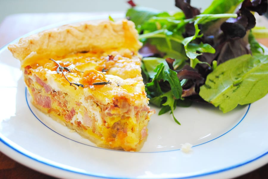 Ham & Bacon Quiche