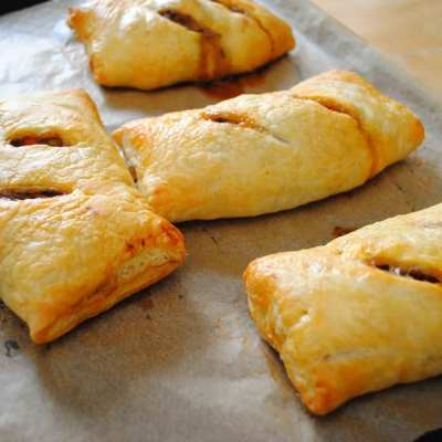 Puff Pastry Pasty