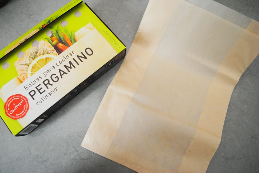 An alternative to homemade parchment packets.