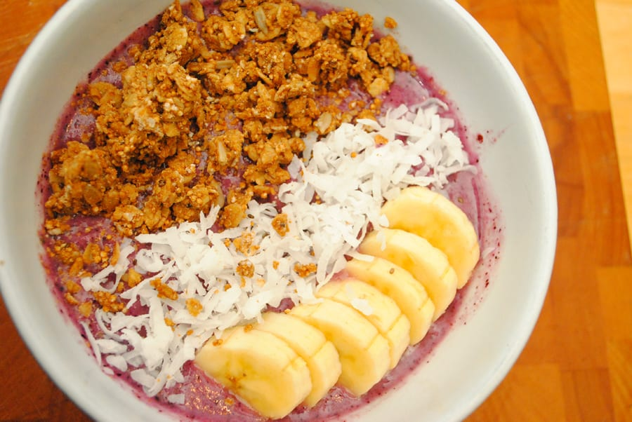 Simple Smoothie Bowls