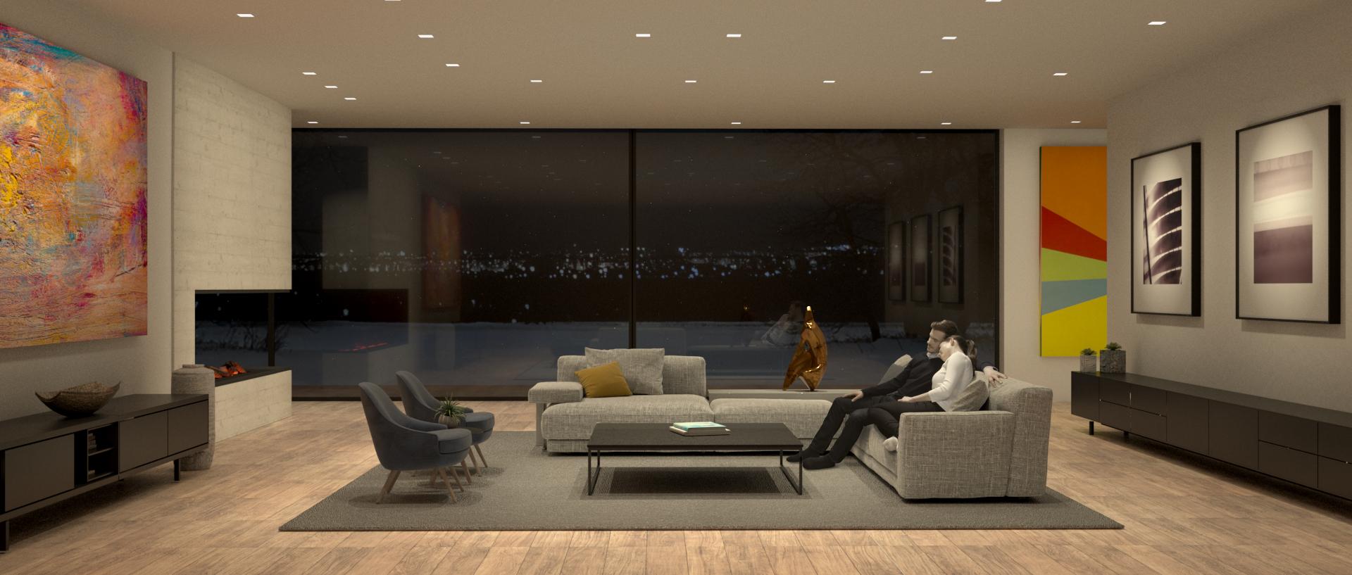 Tech Lighting End Frame - Room Design & Final Comp