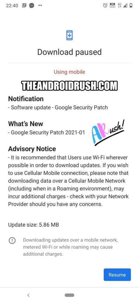 Nokia 7.2 January 2021 Update Screenshot - TheAndroidRush.Com