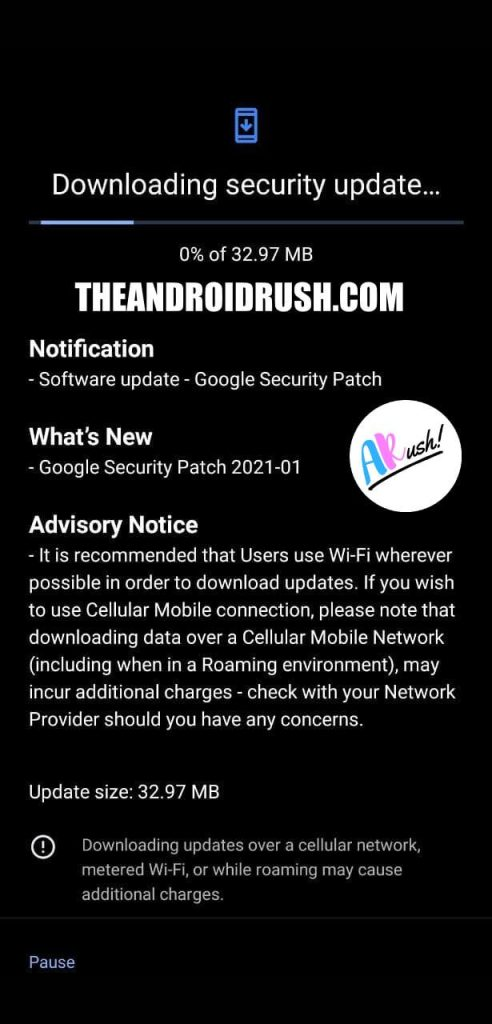 Nokia 8.1 January 2021 Update Screenshot - ThAndroidRush.Com