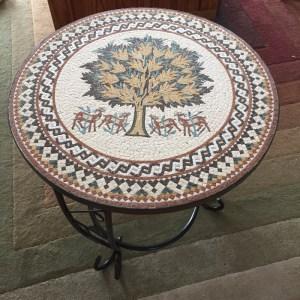 Mosaic Tree of Life table