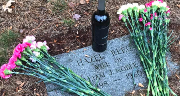 The grave of Hazel Reed, my great grandmother.
