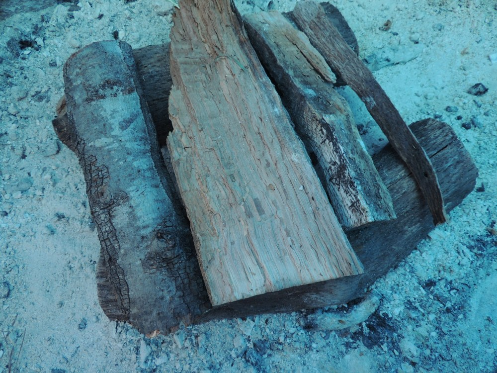 Wood for a Santa Maria style bbq