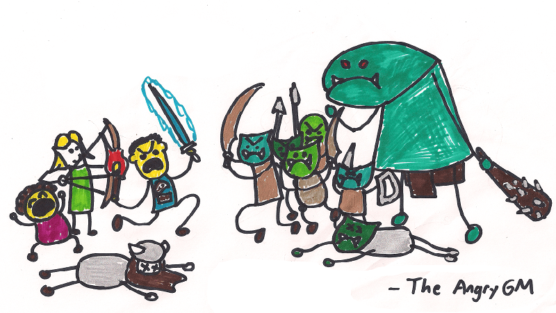 More Grist For the Mill: Minion Groups in D&D 5E | The Angry GM