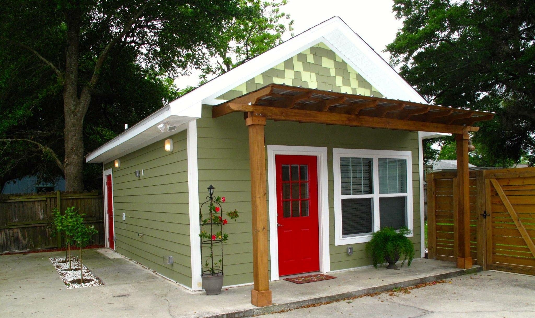 kitchen cabinets pensacola portable newly constructed tiny house for rent in lakeview, east ...