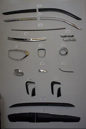 Chrome & Body coloured protectors