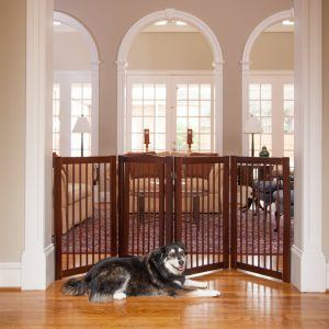Best dog gates for wide openings