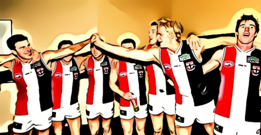 St Kilda defeat Adelaide in 2004, one of The Animal Enclosure's Top Five St Kilda Wins at Football Park.