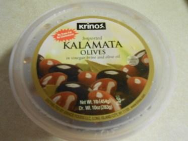 KRINO'S KALAMATA OLIVES
