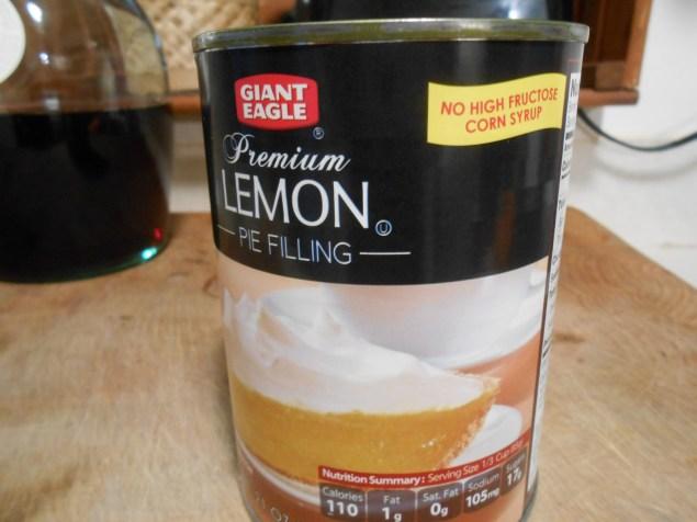 GIANT EAGLE LEMON PIE FILLING