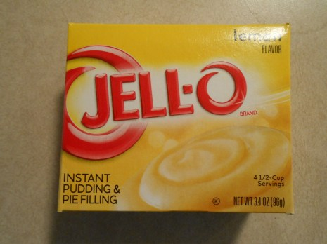 JELLO INSTANT LEMON PUDDING & PIE FILLING
