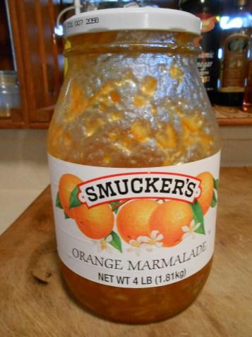 SMUCKER'S ORANGE MARMALADE