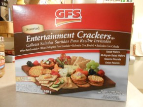 GFS ENTERTAINMENT CRACKERS