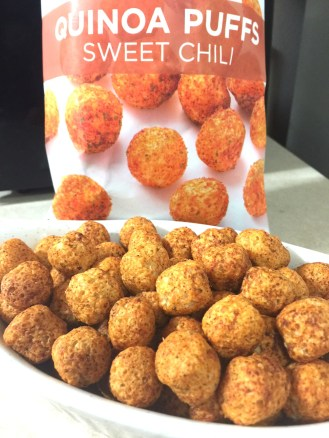 SWEET CHILI QUINOA PUFFS - Edited
