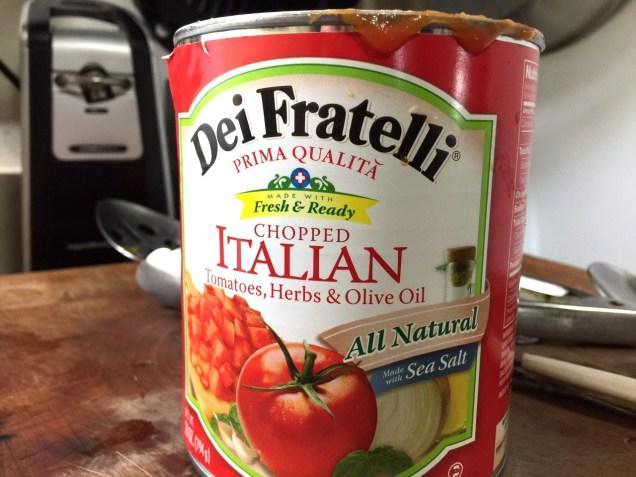 DEI FRATELLI CHOPPED ITALIAN TOMATOES