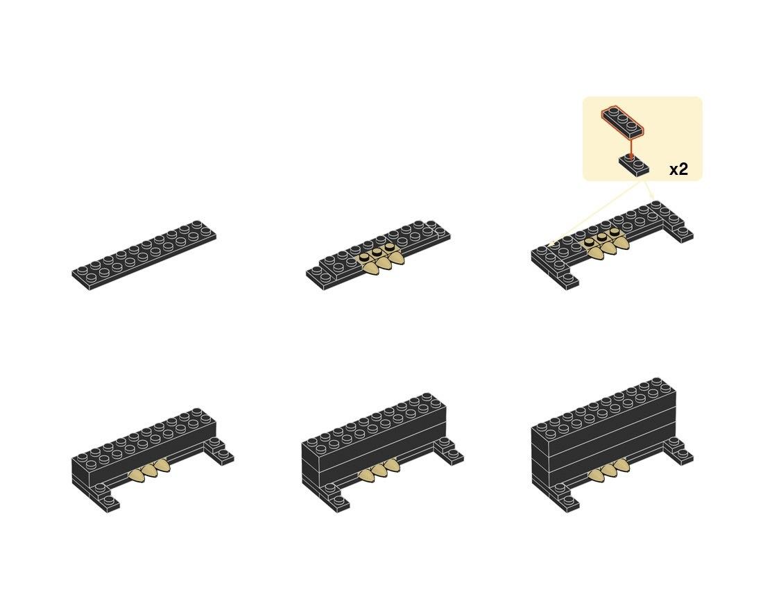 Lego Piano Instructions