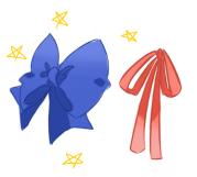 draw bows anime palette