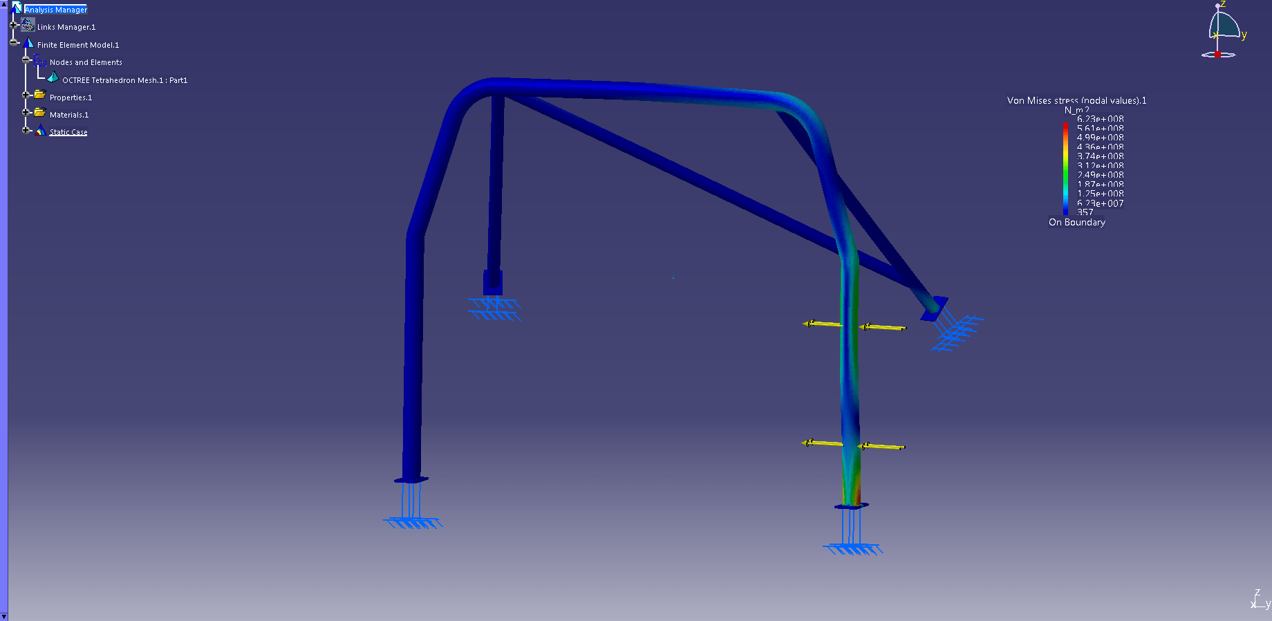 Design of a roll cage for a BMW E30 318i - The Answer is 27