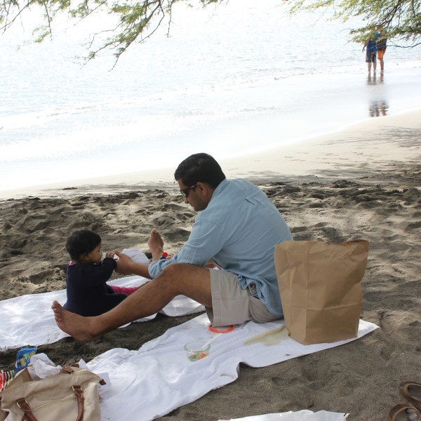 hawaii beach picnic 2014
