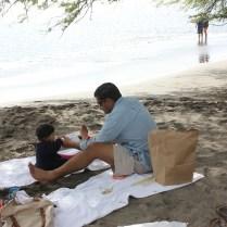 hawaii beach picnic 2014