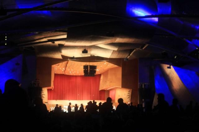 Pritzer Pavilion in Millennium Park
