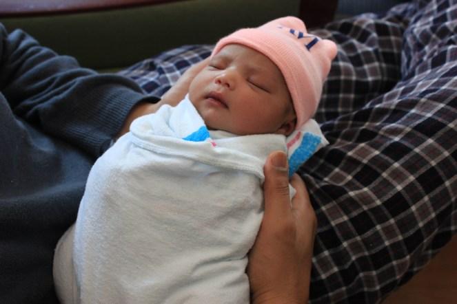 newborn Asha