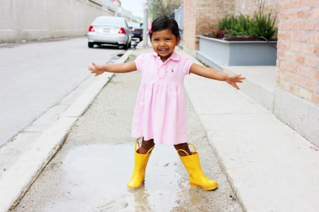 Asha, The Puddle Jumper