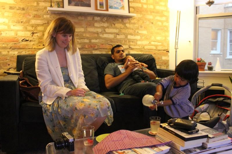Dev, Arjun, Dottie, Asha