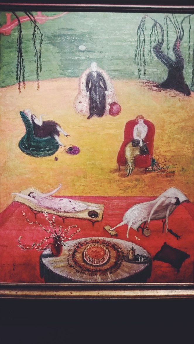 New York girls trips 2015. Brooklyn Museum. Heat by Florine Stettheimer