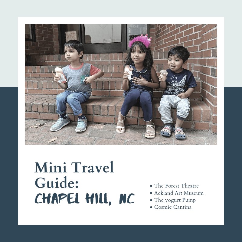 Mini Travel Guide: Chapel Hill, NC