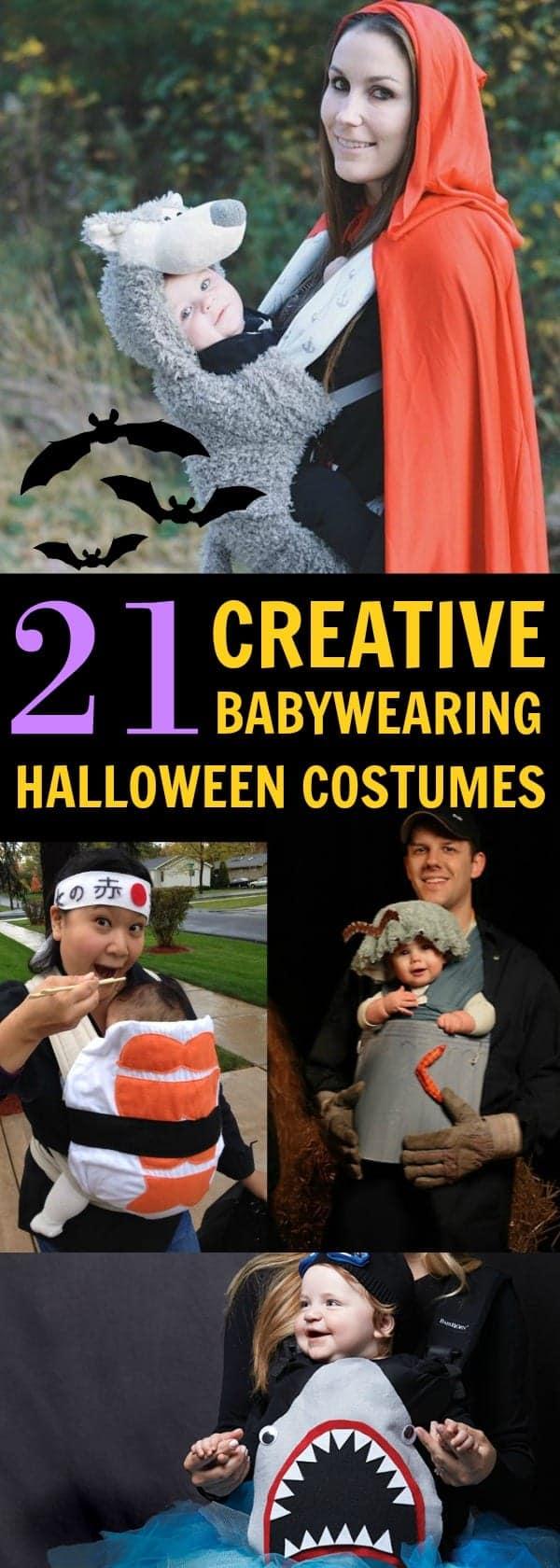 21 Creative Babywearing Halloween Costumes