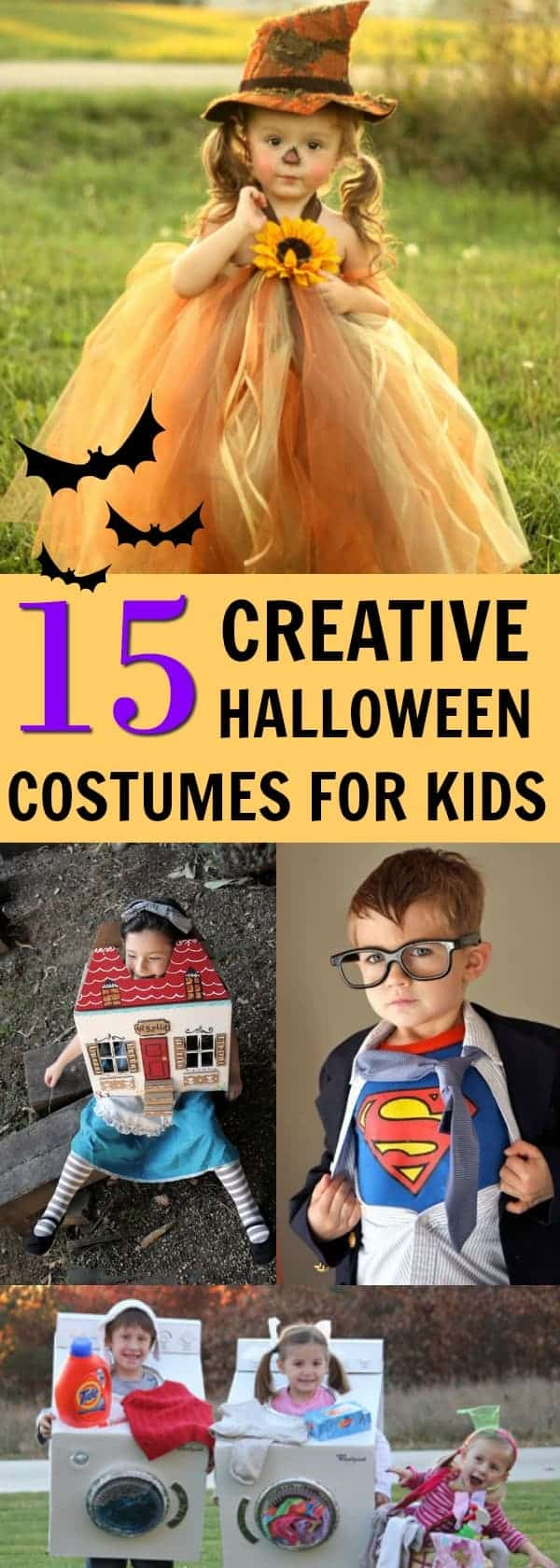 15 diy halloween costumes for kids - the anti-june cleaver