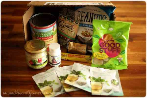 Vegan Cuts snack box #review