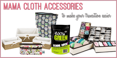 Products to Help Make Using Mama Cloth Even Easier #mamacloth