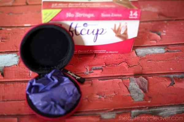 Make you period easier while on-the-go with the SoftCup disposable #menstrualcup