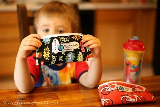 On-the-go snacking with Planet Wise snack bags