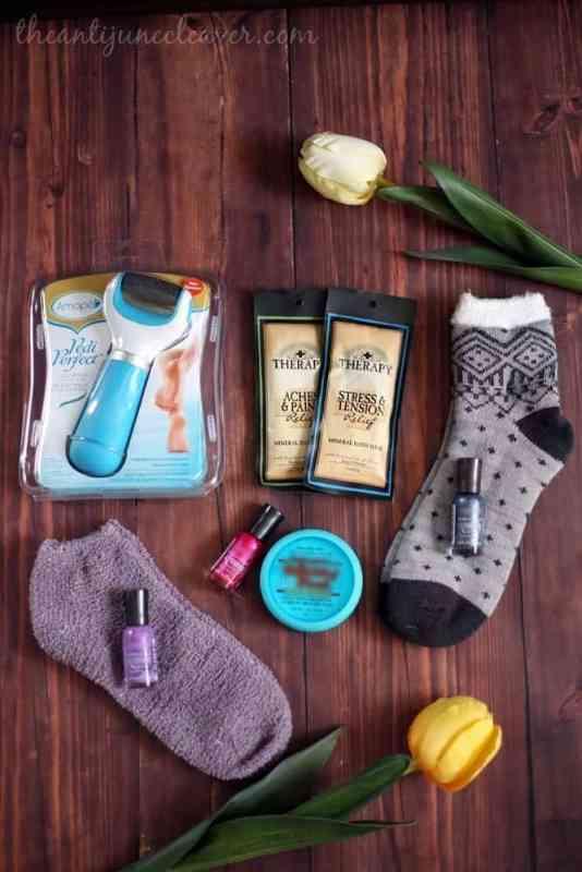 Foot care gift basket #RespectUrFeet #shop