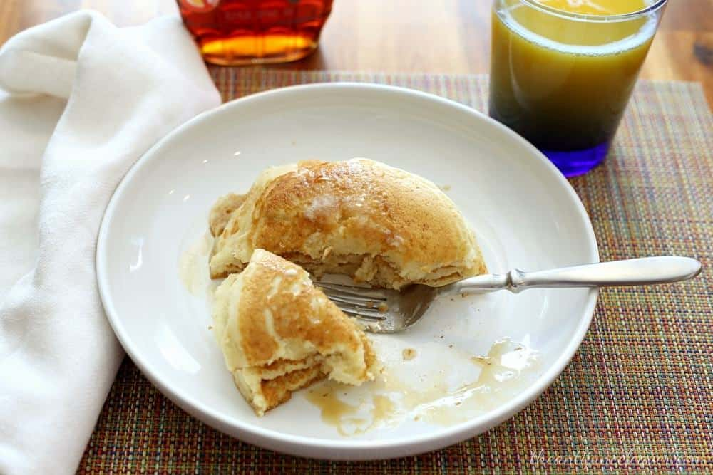 Make-ahead breakfasts to freeze - homemade buttermilk pancakes