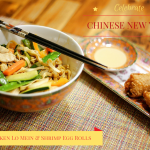 Celebrate Chinese New Year with Chicken Lo Mein & Shrimp Egg Rolls