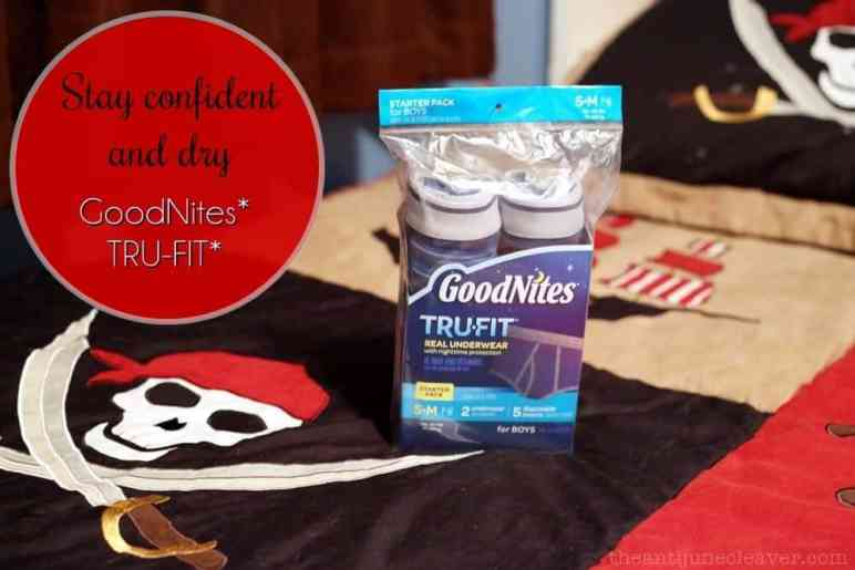 Is your child having bedwetting issues? We stay confident and dry with GoodNites* TRU-FIT* #WalmartTRUFIT, #IC (ad)
