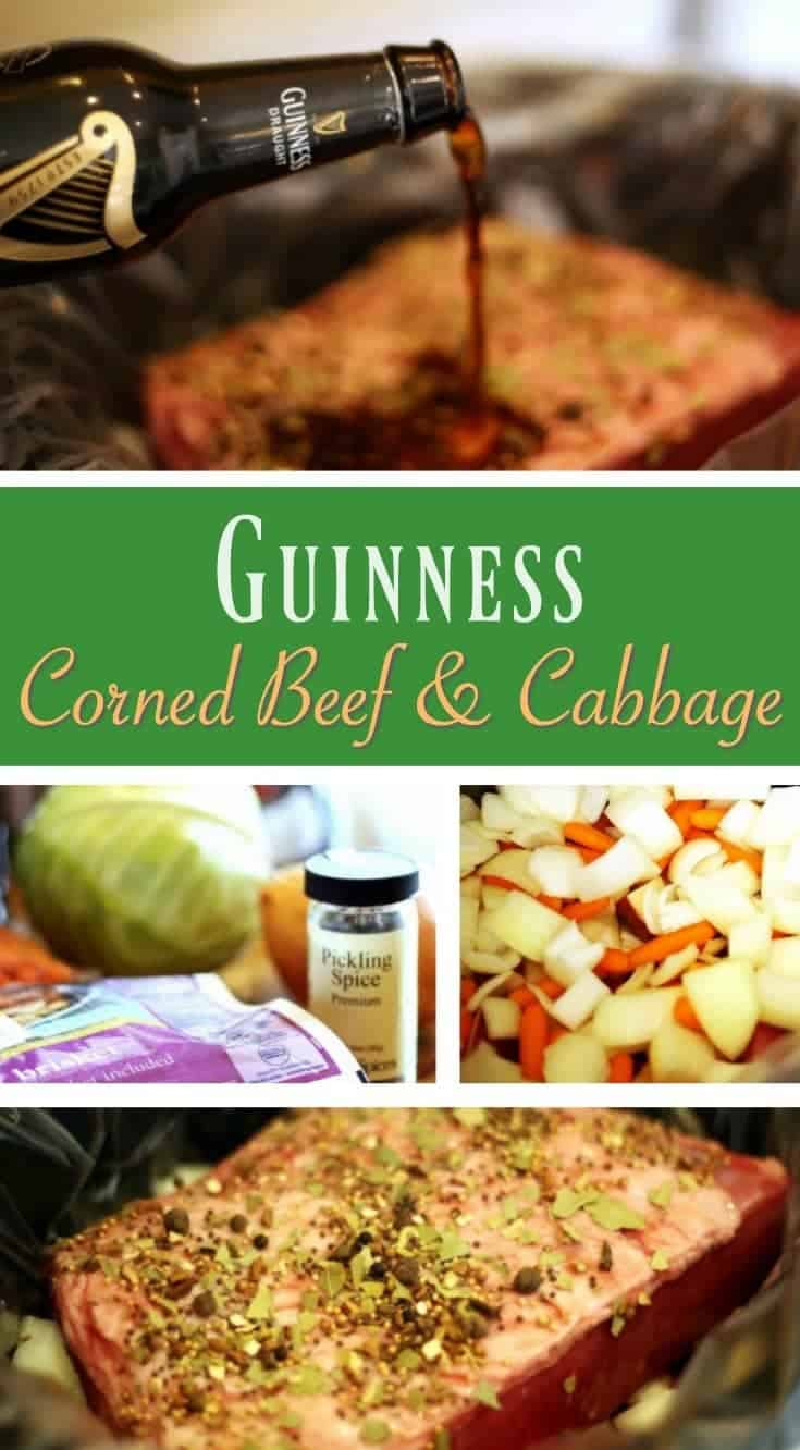 St. Patrick's Day Guinness Corned Beef and Cabbage Recipe