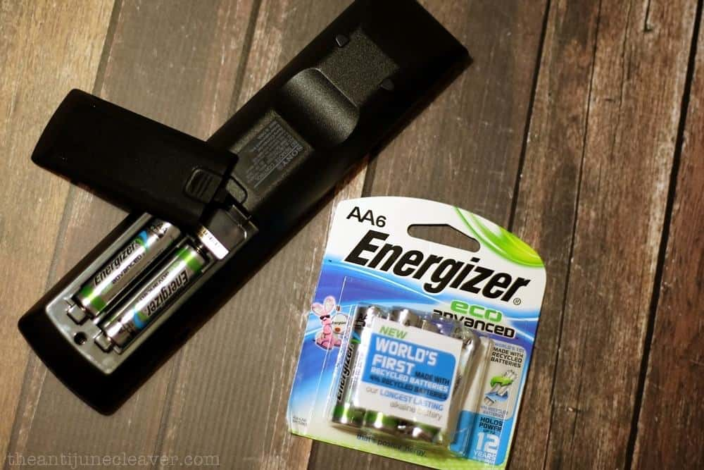 10 Simple Everyday Changes You Can Make Toward a Greener Life - Recycled batteries #BringingInnovation #Ad