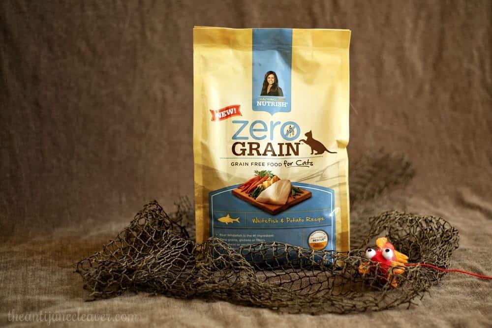 Healthy Cats are Happy Cats with Rachael Ray Zero Grain