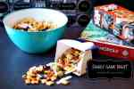 Family Game Night is the Perfect Time to Bond with Your Teen - plus a trail mix recipe and game night board tutorial #GameNightIn #ad #cbias
