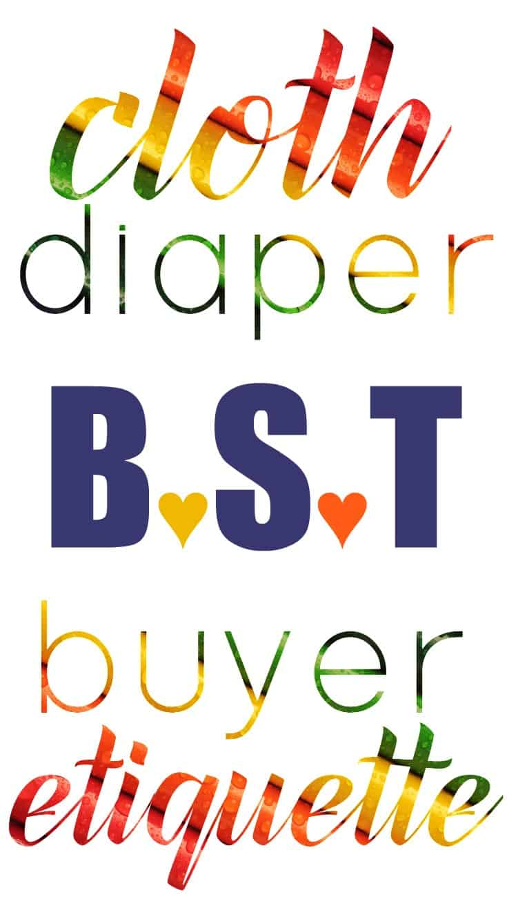 Cloth Diapers Buy, Sell, Trade: Cloth Diaper BST Buyer Etiquette. Don't Be That Girl