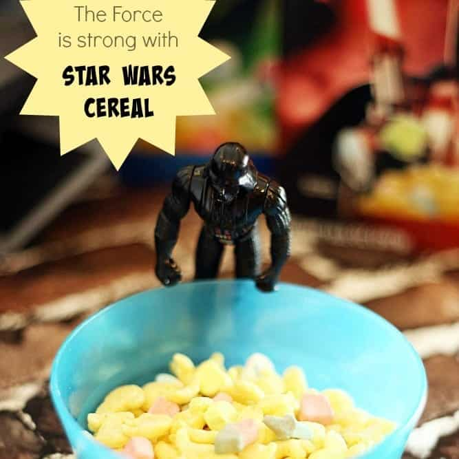 The Force is strong with #StarWars Cereal #sp