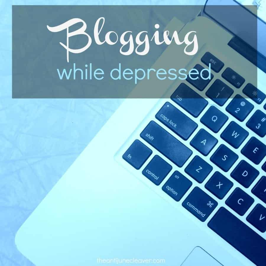 Blogging While Depressed